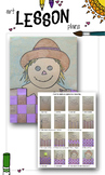Elementary Art Lesson Plan. Weaving Scarecrows Lesson Plans