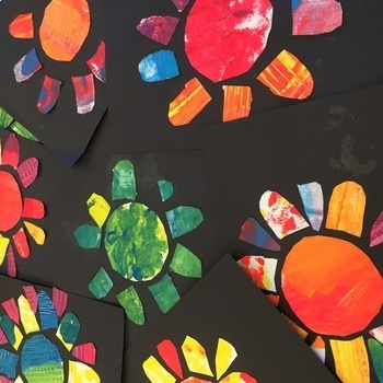 Elementary Art Lesson Plan and Presentation. Stained Glass