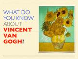 Elementary Art Lesson - Vincent van Gogh