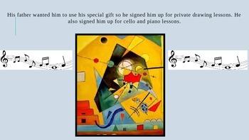 Elementary Art Lesson - Wasilly Kandinsky Abstract Art
