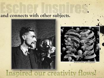 Elementary Art Lessons: Escher Clay Printmaking Self Portraits & Marzano DQ