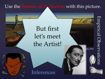 Elementary Art Lessons & Presentation Fifth: Dali & Practice of Science in Art