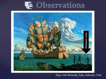 Elementary Art Lessons & Presentation Kinder: Dali & Practice of Science in Art