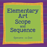 Elementary Art Scope and Sequence