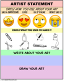 Elementary Art Self Assessment