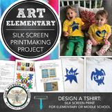 Elementary Art: Silk Screen Printmaking, Graphic Design, &