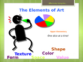 Elementary Art Lesson: Elements of Art for Upper Elementary & Marzano DQ