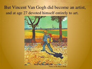 Elementary Art Lesson 2nd: Van Gogh Impressionism Blossoms Pastel/Watercolors