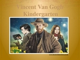 Elementary Art Lesson Kindergarten: Van Gogh Sunflowers Oil Pastel Watercolors