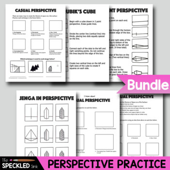 Elementary Art Worksheet Set. Elements & Principles for K-5.