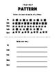 Elementary Art Worksheet Set. Introduction to Pattern.