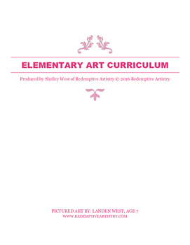 Elementary Art curriculum - using multi media