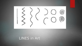 Elementary Art PowerPt.- Great for analyzing Line in famou