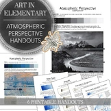 Elementary Art of Middle School Art Printable Handouts: At