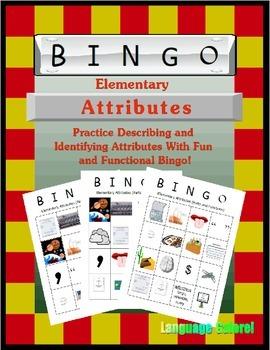 Elementary Attributes Bingo