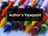 Elementary Author's Viewpoint