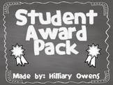 Elementary Awards Packet