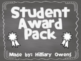 Elementary Awards Packet