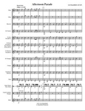 Concert Band Music - Afternoon Parade