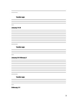 Elementary Band Practice Journal