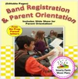 Elementary Band Registration & Orientation