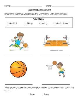 Elementary Basketball Assessment