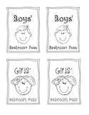 Elementary Bathroom Passes