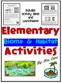 Elementary Biome and Habitat Activities
