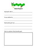 Elementary Book Report