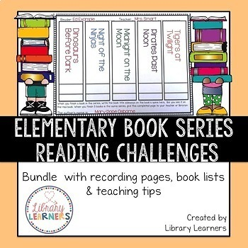 Reading Challenges Chapter Book Series Bundle