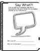 Elementary Book Share Notebook