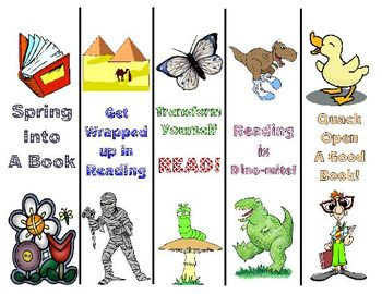 Elementary Bookmarks