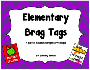 Elementary Brag Tags