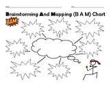 Elementary Brainstorming and Mapping Chart
