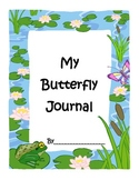 Elementary Butterfly Life Cycle Journal