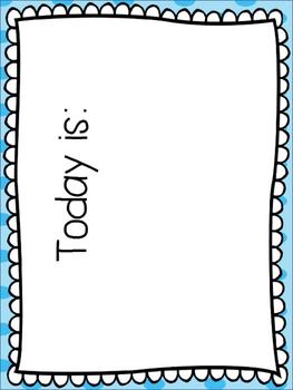 Calendar Kit - Blue Dot