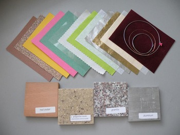 Elementary Chemistry - Solids materials kit