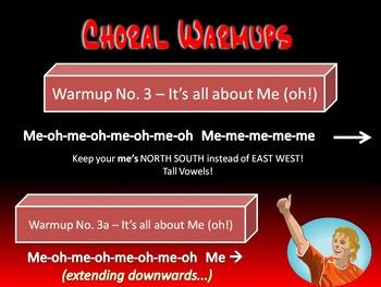 Elementary Choral Warmups