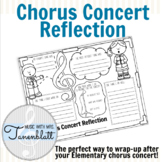 Elementary Chorus Concert Reflection Form