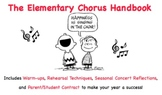 Elementary Chorus Pack: Teacher's Guide, Student Contract, and Reflections