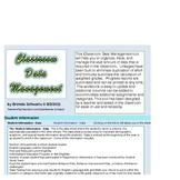 Elementary Classroom Data Management & Gradebook PC 2007