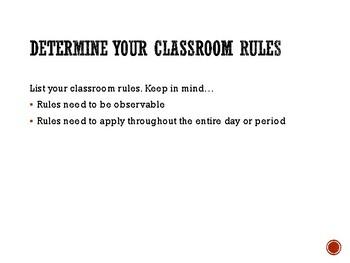 Elementary Classroom Management Strategies: Module 1