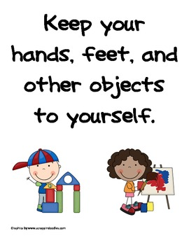 Elementary Classroom Rules Posters by Christie Uribe | TpT