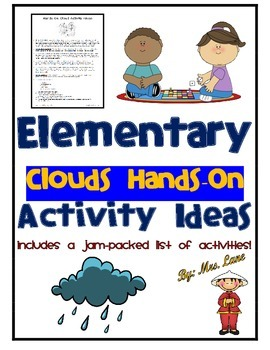 Elementary Clouds Hands-On Activity Ideas
