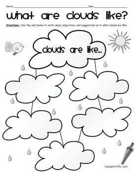 Elementary Clouds Worksheets