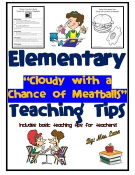 """Elementary """"Cloudy with a Chance of Meatballs"""" Teaching Tips"""