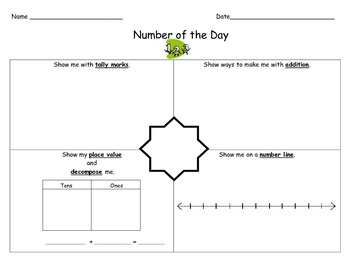 Elementary Common Core Math Number of the Day