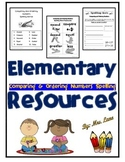 Elementary Comparing & Ordering Numbers Spelling Resources