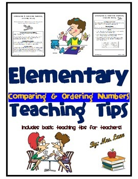 Elementary Comparing & Ordering Numbers Teaching Tips