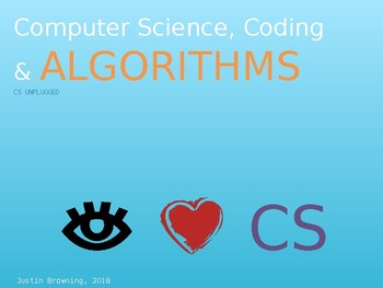 Elementary Computer Science, Coding, and Algorithms PPT